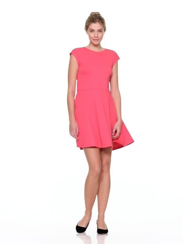 Gap - Bunny-Tie Fit and Flare Dress in Ponte - 6