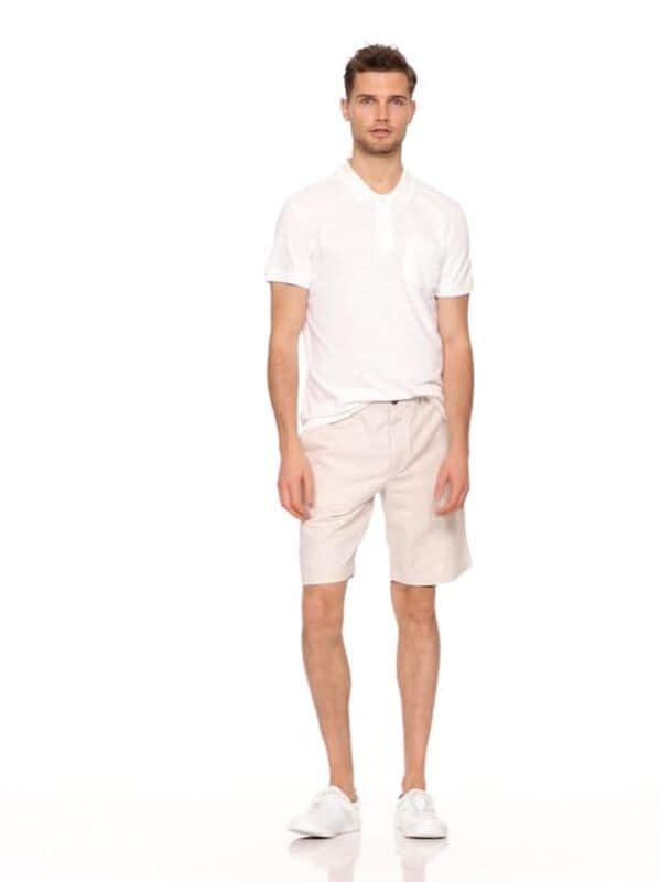 "Gap - 10"" Chino Shorts in Linen - 6"