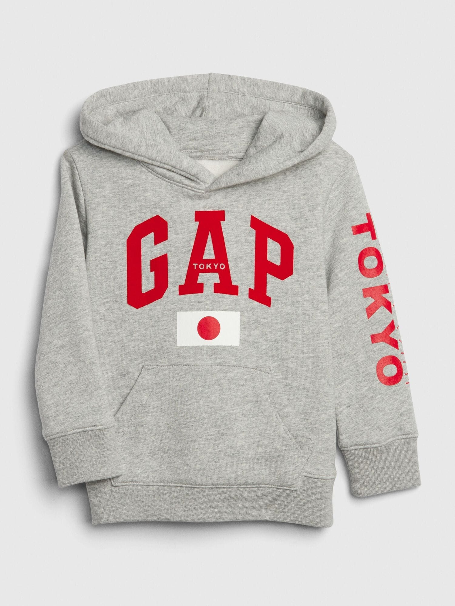 NEW GAP STRIPED LINED RED LOGO HOODIE SIZE 0-3-6-12-18-24M