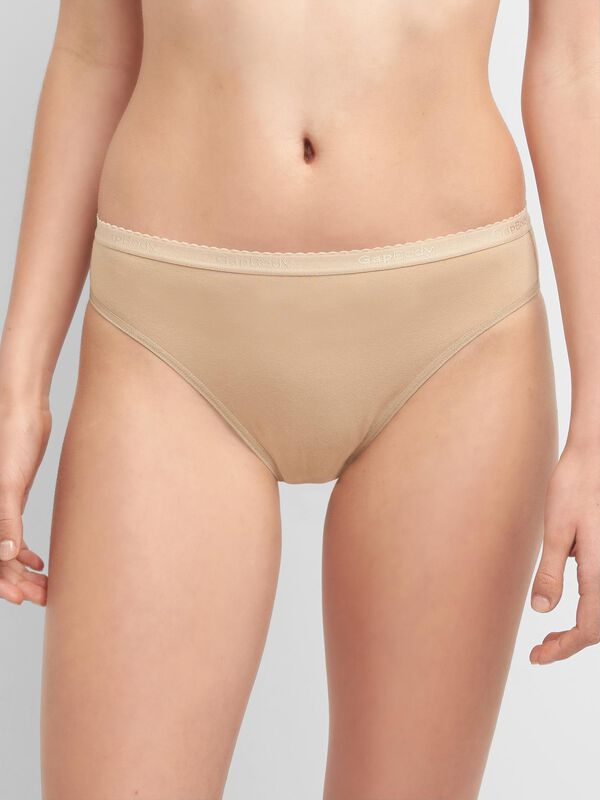 Gap - Stretch Cotton High Leg Brief - 5