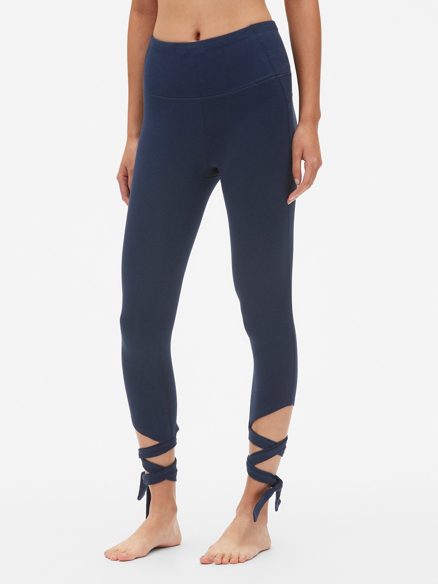 GapFit High Rise Barre Strap 7 8 Leggings