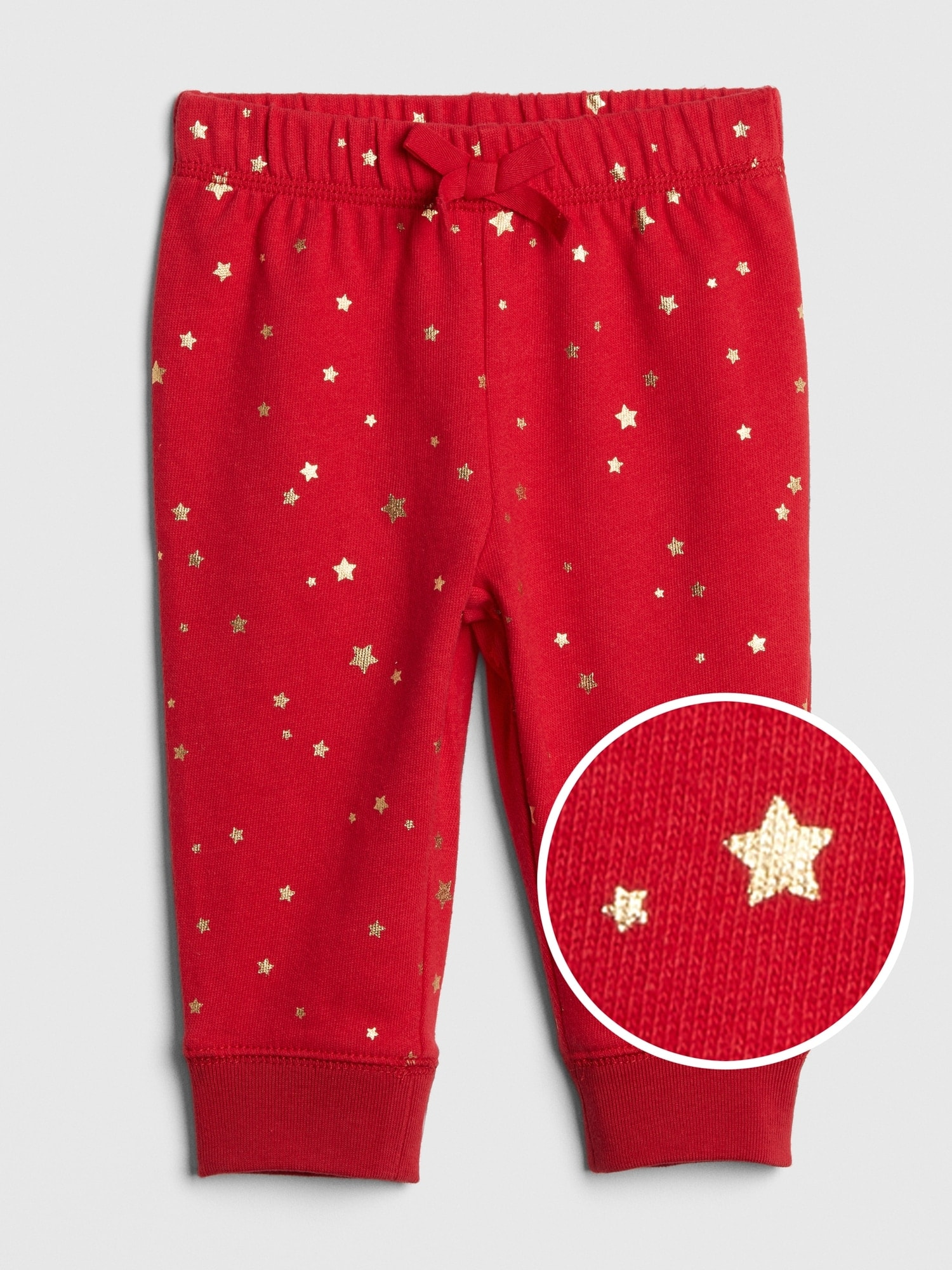 Baby Foil-Star Joggers